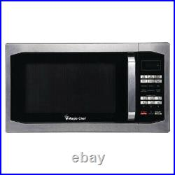 Magic Chef MCM1611ST 1.6 cu. Ft. 1100W Microwave Oven Stainless Steel