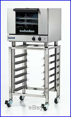 Moffat E22M3/SK23 Electric Convection Oven 3 Half Size Pan with Mobile Stand