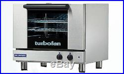 Moffat E22M3 Turbofan Electric Convection Oven 3 Half Size Pan Manual