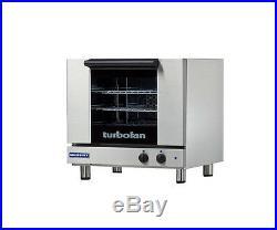 Moffat E23M3 Turbofan Electric Convection Oven Half Size 3 Pan Manual
