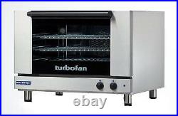 Moffat E27M3 Turbofan Electric Convection Oven Full Size 3 Pan Manual