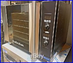 Moffat E31D4 Turbofan Single Half Size Electric Convection Oven 2.8 kW, 208v/
