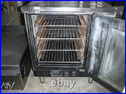 Moffat E32MS Turbofan Countertop Natural Gas Convection Oven Left Hand Open Door