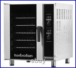 Moffat E33D5 Turbofan Electric Digital Convection Oven 5 Pan Half Size