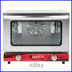 NEW! Avantco 1/4 Size Commercial Countertop Electric CONVECTION Oven Food Shop