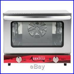 NEW Avantco CO-14 1/4 Countertop Commercial Electric Convection Oven