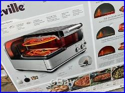NEW Breville BPZ820BSS The Smart Pizzaiolo Countertop Pizza Oven, 120V, 1800W