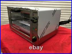 NEW Counter Top Convection Oven 1/4 Sheet Electric Equipex Sodir FC26 #2821 NSF