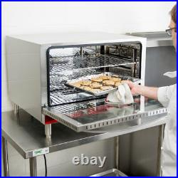 NEW Full Size Electric Countertop Convection Oven Steam Injection 208-240V