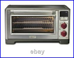 NEW WOLF GOURMET WGCO150S Countertop Convection Oven Elite Red Knob