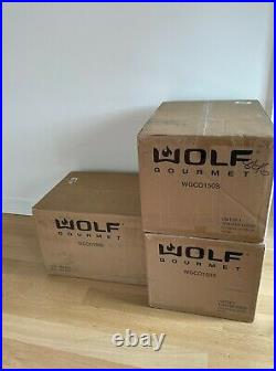 NEW Wolf Gourmet Elite Countertop Convection Oven WGCO150S RED KNOBS