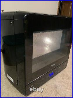NICE Whirlpool WMC20005YB 0 Black Rare Compact Microwave Oven Dorm RV Boat