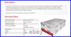 New Avantco Commercial Electric Food Pan Warmer Countertop Restaurant Cooking