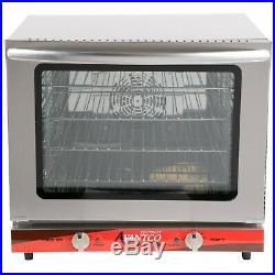 New Avantco Commercial Oven Convection Electric Half Size Countertop Restaurant