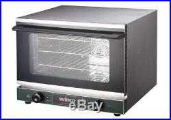 New Commercial Electric Convection Oven, Half Size, WINCO ECO-500 (120V)