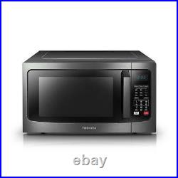 New TOSHIBA 1.5cu. Ft. CONVECTION MICROWAVE OVEN Black Stainless Steel 1000W
