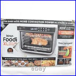 Ninja Foodi 10-in-1 XL Pro Countertop Large Air Fry Oven DT201 dents