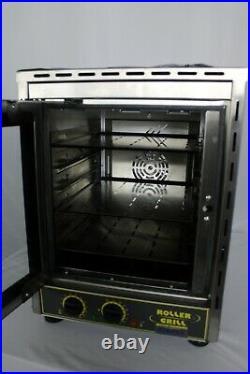 Open Box Equipex FC-280V/1 Sodir-Roller Grill Countertop Convection Oven
