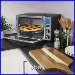 Oster Black Stainless Countertop Digital Toaster Oven With Convection TSSTTVGMDG