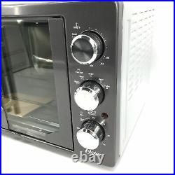 Oster Countertop Convection Toaster Oven with French Doors-Metallic Gray #NO8174
