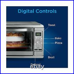 Oster Digital Countertop Convection Oven XL Stainless Steel TSSTTVDGXL SHP New