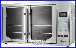 Oster Digital French Door Convection Countertop and Toaster Oven Stainless Steel