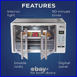 Oster Digital French Door Countertop Oven Turbo Convection