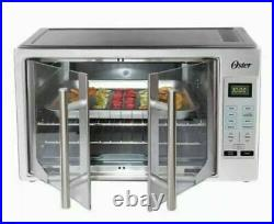 Oster Digital French Door Countertop Oven Turbo Convection Extra Large USED