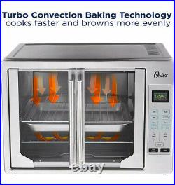 Oster Digital French Door Countertop Oven Turbo Convection TSSTTVFDDG