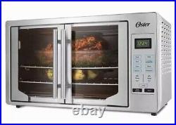 Oster Digital French Door Countertop Oven Turbo Convection #TSSTTVFDDG Free Mitt