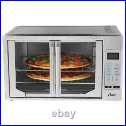 Oster Digital French Door Countertop Oven with Turbo Convection Baking