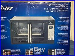 Oster Digital Oven French Door Black Convection Heat Countertop Large