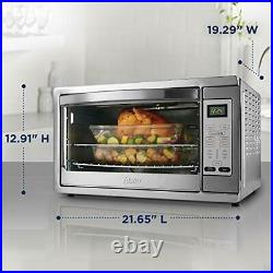 Oster Extra Large Digital Countertop Convection Oven, Large, Stainless