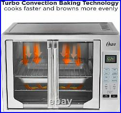 Oster French Convection Countertop and Toaster Oven Single Door Pull & Digital
