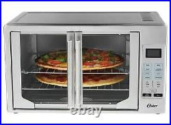 Oster French Door Convection Countertop Oven Digital Brushed Stainless Steel