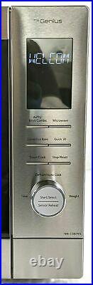 Panasonic NN-CD87KS HomeCHEF 4-in-1 Microwave Mulit-Oven with Air Fry Open Box
