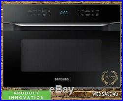 Premium Convection Microwave Oven 1.2 Cu Ft Countertop / Built-In Black Samsung