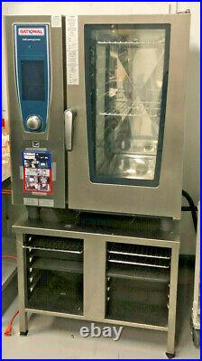 Rational SCC101 Rational Self Cooking Center Single Stack Combi Oven