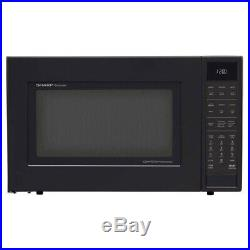 Sharp 1.5 Cu Ft 900W Convection Microwave Oven (Certified Refurbished)(Open Box)