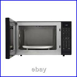 Sharp SMC1585BB 1.5 Cu Ft 900W Convection Microwave Oven (Refurbished)
