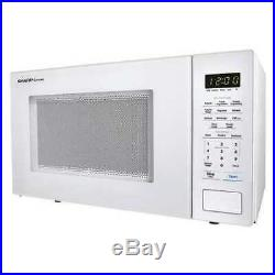 Sharp Smc1131cw White Consumer Consumer Microwave Oven 1.10 Cu Ft 1000 Watts