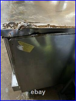 Southbend SilverStar Commercial Electric Double Deck Convection Oven with 6in Legs
