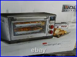 WOLF GOURMET WGCO150S Countertop Convection Oven Elite Red Knob