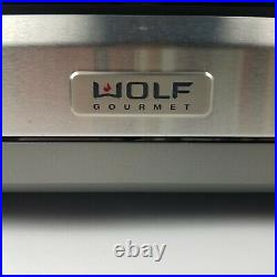 WOLF Gourmet Convection Toaster Oven Countertop Model WGCO100S Unused Read