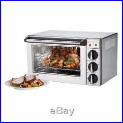 Waring WCO250X Quarter Size Electric Convection Oven Counter Top 3 Pan 120v