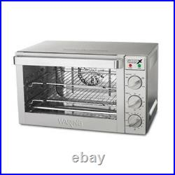 Waring WCO500X Countertop Convection Oven, Half Size