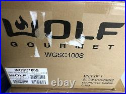 Wolf Gourmet Countertop Convection Oven With Red KnobsBRAND NEW IN BOXWGCO150S