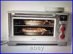 Wolf Gourmet Countertop Oven WGCO150S New in Box