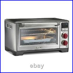 Wolf Gourmet Elite Countertop Convection Oven With Red Knobs BRAND NEW