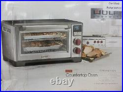 Wolf Gourmet Elite Countertop Oven Convection 7 Cooking Modes 2 Racks WGCO150S